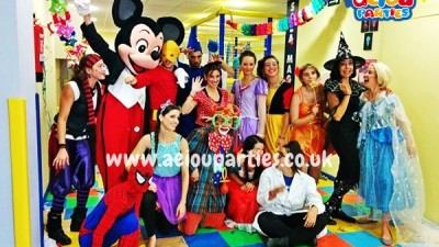 Children's party entertainers in London