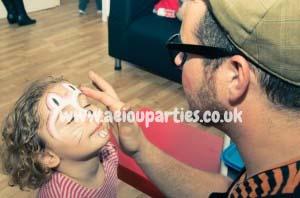 Face Painters Hire Birthdays Parties