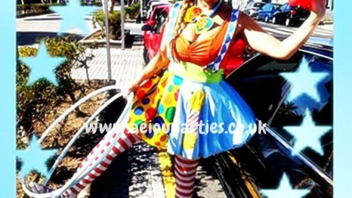 clown shows for kids in East London